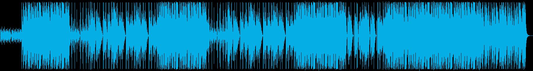 ヘビー/ディープ/ヒップホップ/ビートの再生済みの波形
