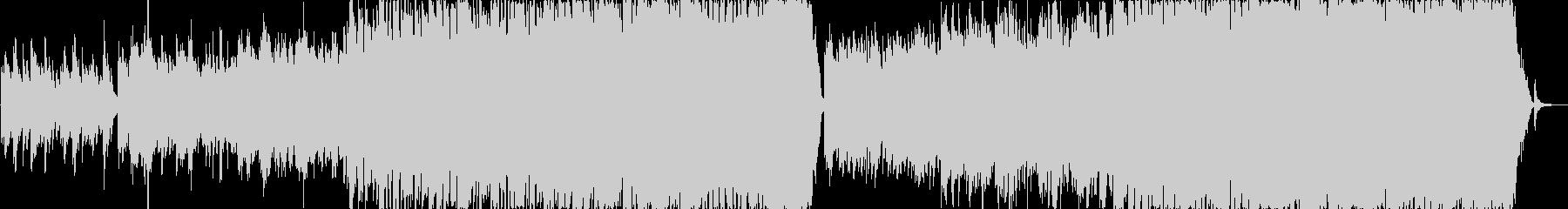 ピアノとオーケストラ映像向けエピックの未再生の波形