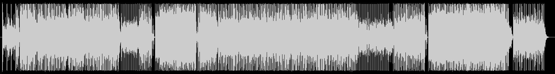 ミステリーを表現したEDMギターインストの未再生の波形