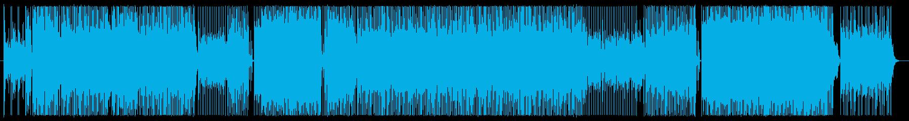 ミステリーを表現したEDMギターインストの再生済みの波形