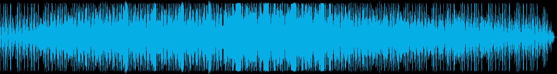 ローファイなダンスミュージックの再生済みの波形