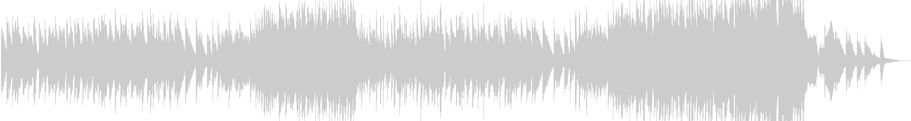 フルート中心の感動系バラードの未再生の波形