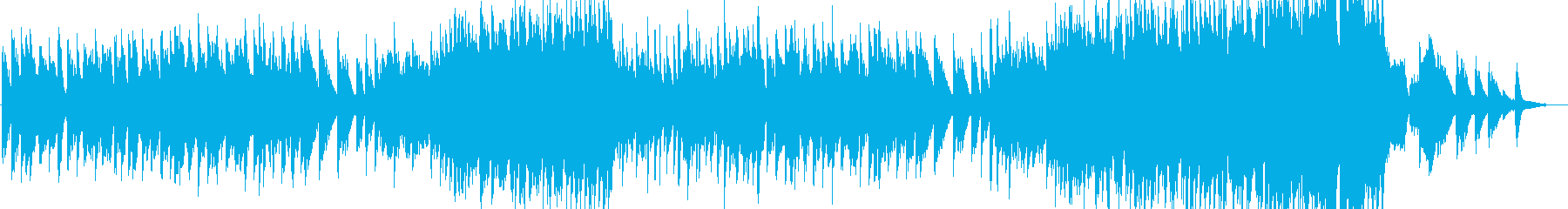 フルート中心の感動系バラードの再生済みの波形
