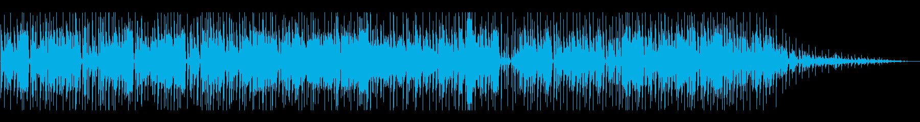 お洒落なスムースジャズバラードの再生済みの波形