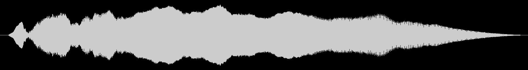 漫画スライドwhiがゆっくりの未再生の波形