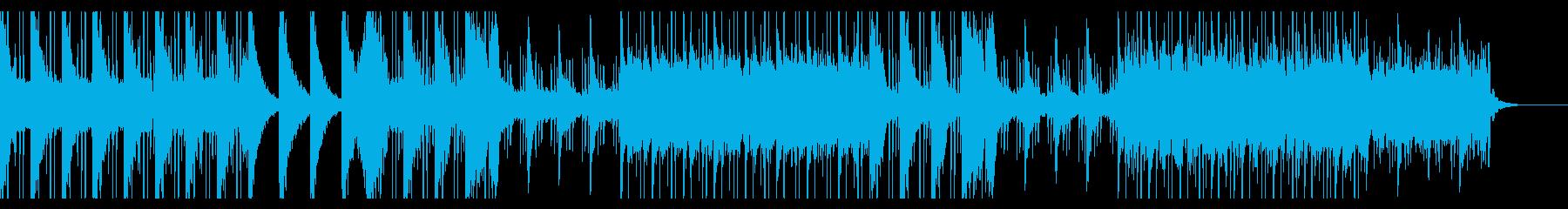 落ち着いたエレクトロ 朝 神秘 始まりの再生済みの波形