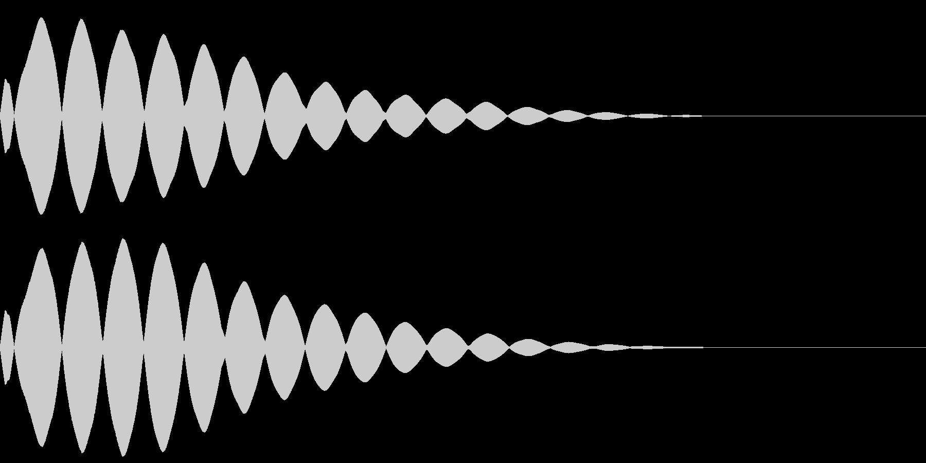 【キラーン】(光るエフェクト)の未再生の波形