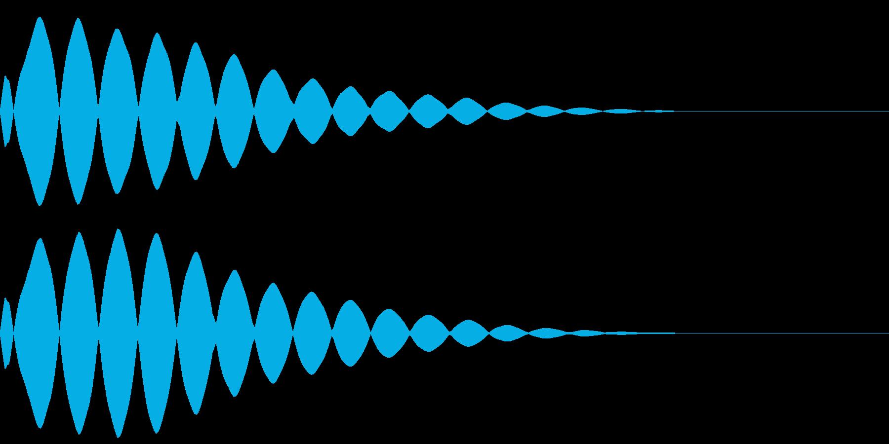 【キラーン】(光るエフェクト)の再生済みの波形