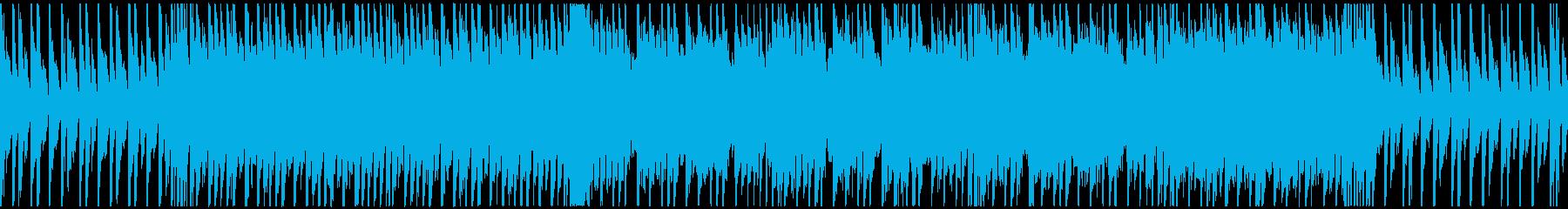 【ループ対応】前向きポップロックの再生済みの波形