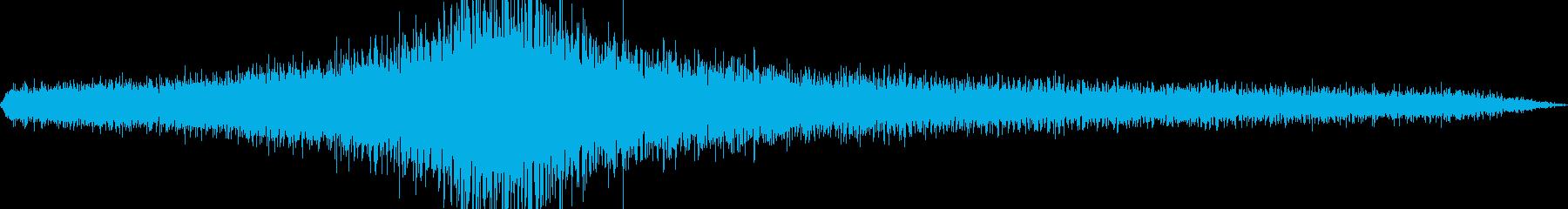 30 Mphのジープの再生済みの波形