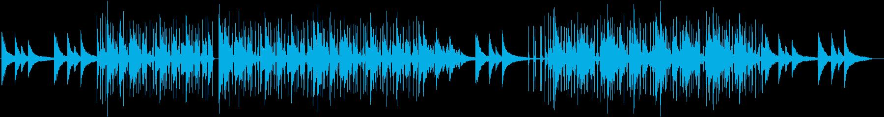 ピアノがお洒落なLoFiHiphopの再生済みの波形
