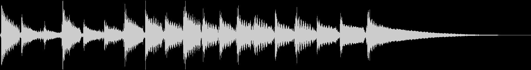 音響ギター:奇異なアクセント、漫画...の未再生の波形