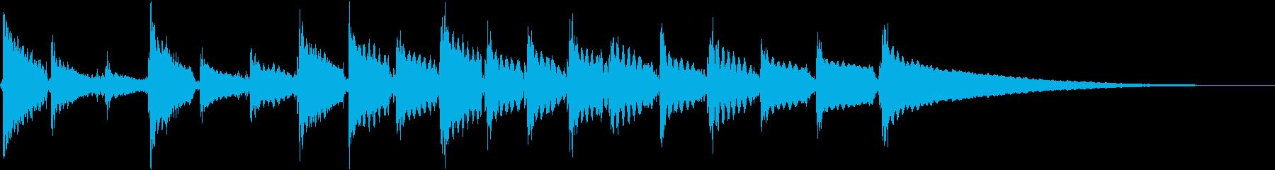音響ギター:奇異なアクセント、漫画...の再生済みの波形