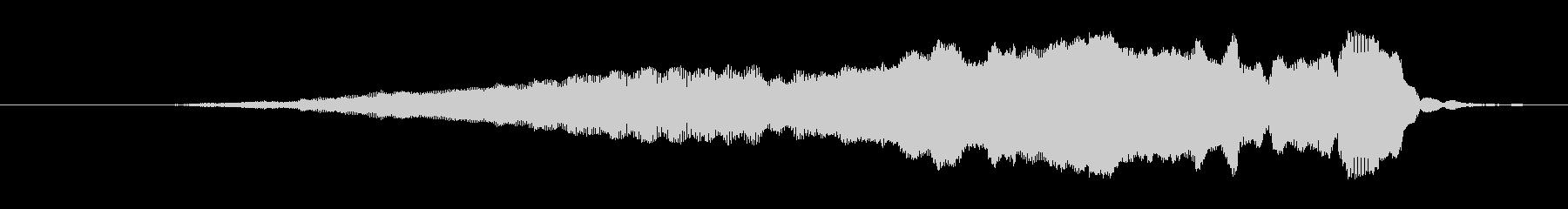 漫画スライドホイッスル:アップ、ホ...の未再生の波形
