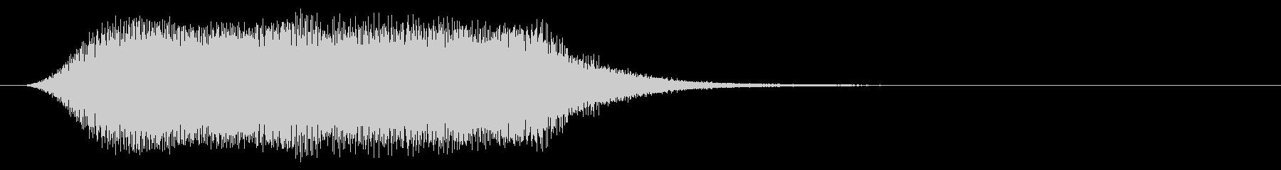 SF系の効果音(レーザー/移動/ゲート)の未再生の波形