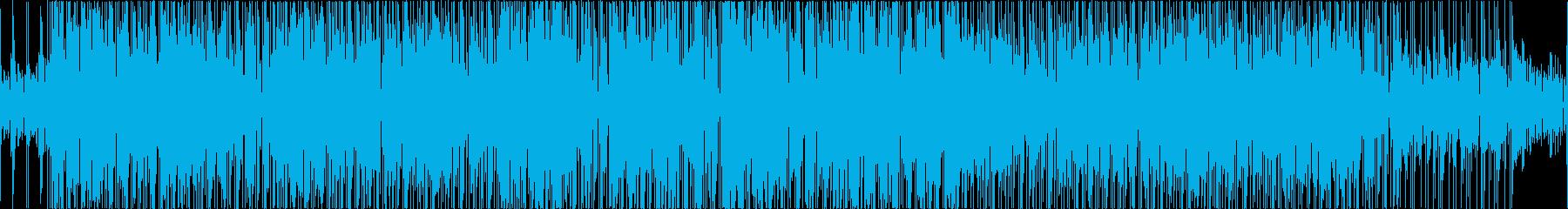 16Beat shuffle Funkの再生済みの波形