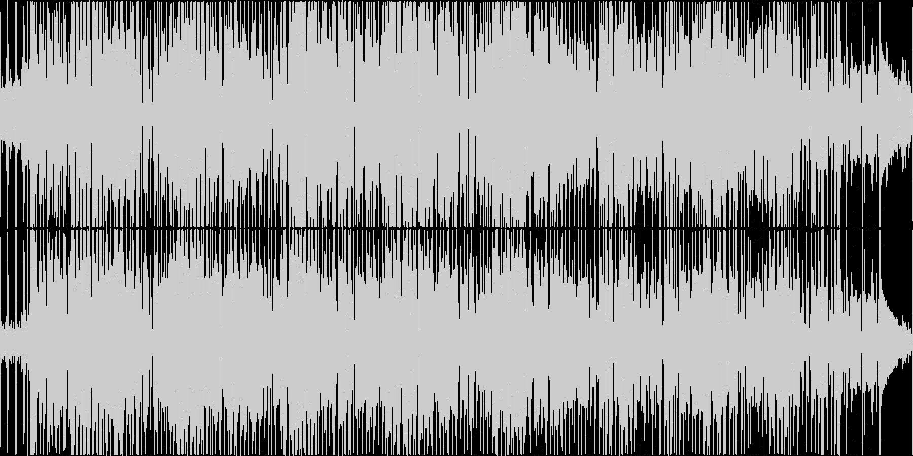 16Beat shuffle Funkの未再生の波形