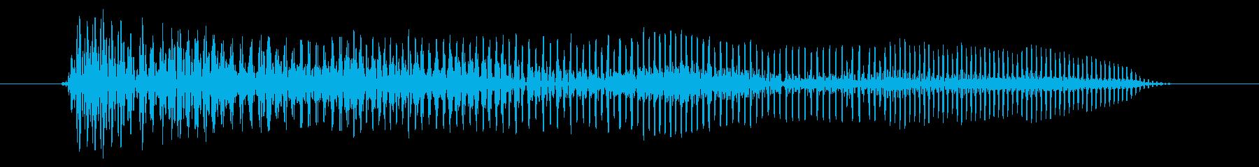 空腹03-4の再生済みの波形