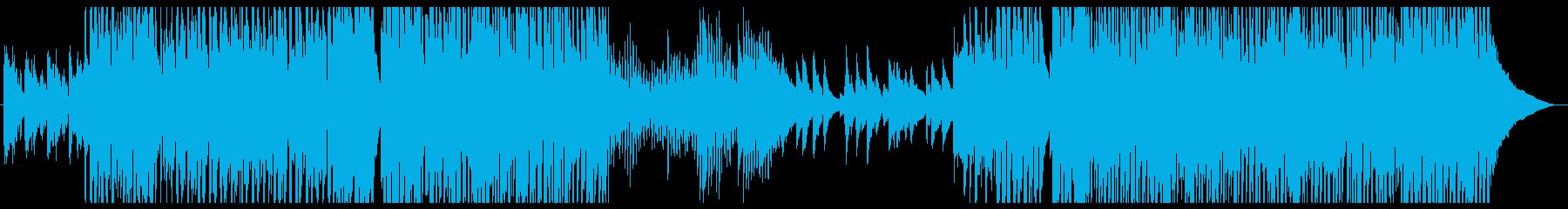 アップテンポピアノかっこいいジャズの再生済みの波形