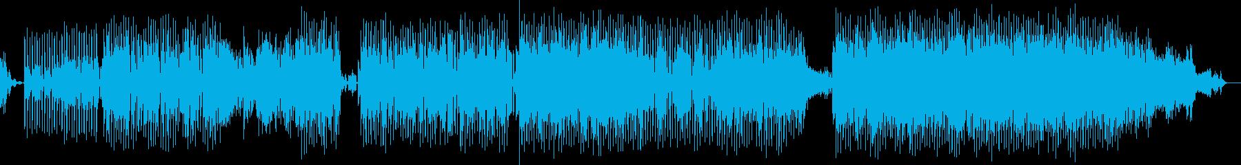 エレクトロニック、男性ボーカル。パ...の再生済みの波形