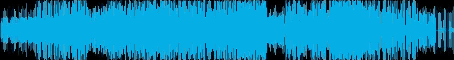 シンセベースフレーズが倍増、反復的...の再生済みの波形