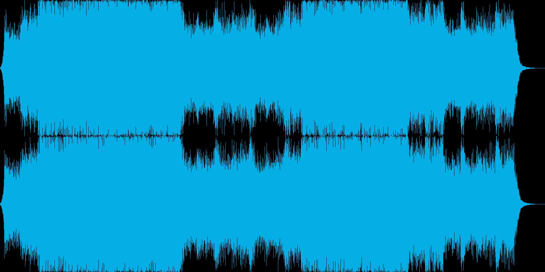 シューティング・近未来 戦闘曲 トランスの再生済みの波形