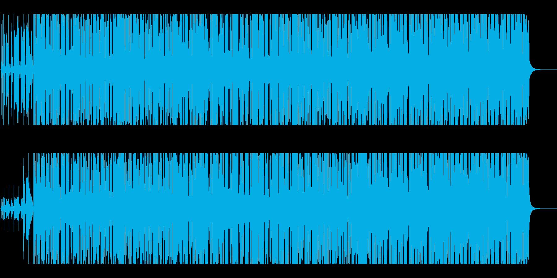 ファンク ポジティブ 明るい 心に...の再生済みの波形