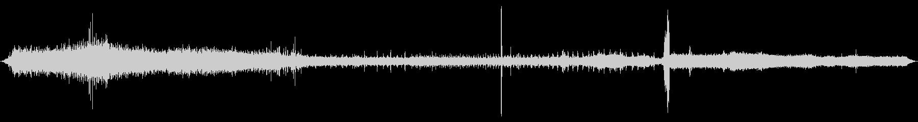 1907ボールドウィン蒸気機関車:...の未再生の波形