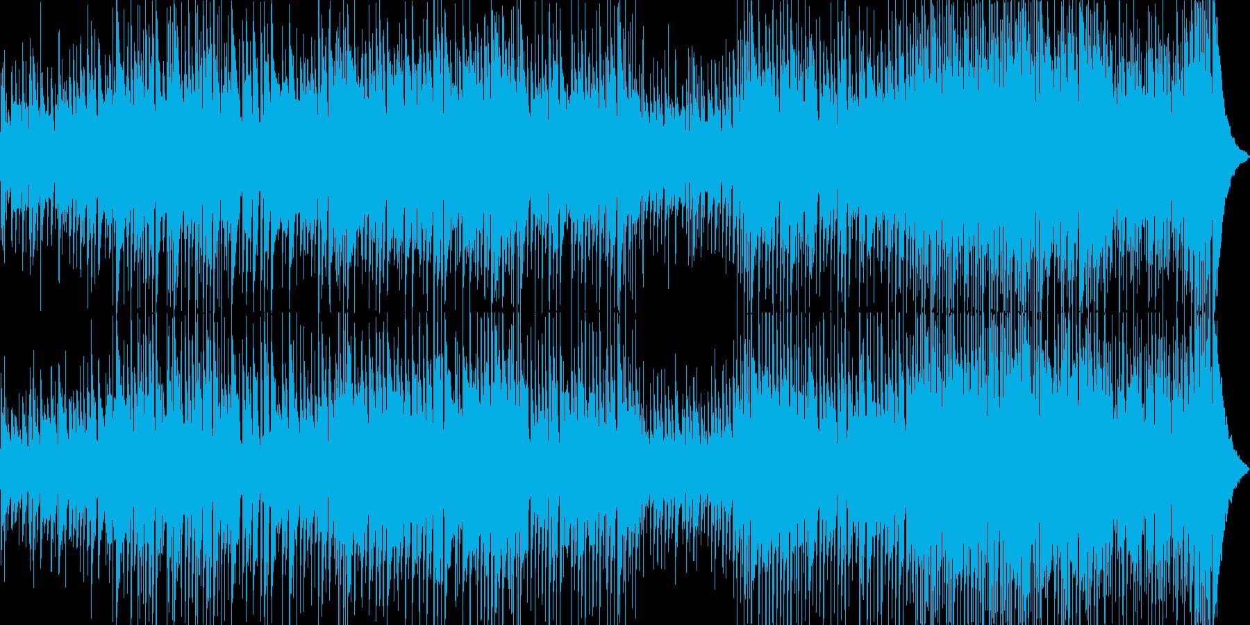 軽快で穏やかなアコースティックポップスの再生済みの波形