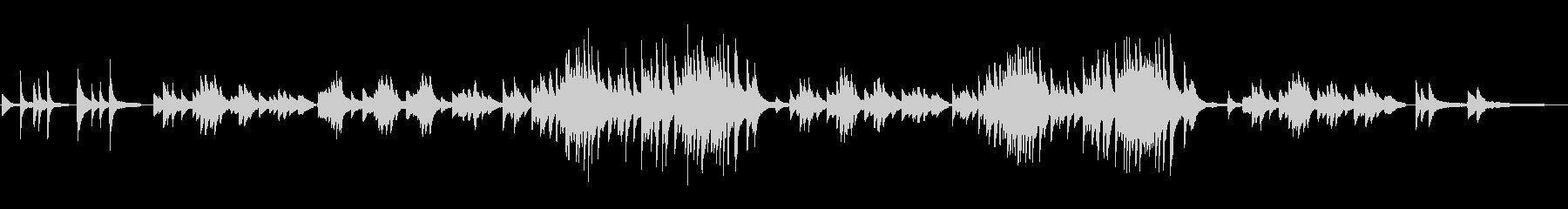抒情小曲集より「メランコリ」の未再生の波形