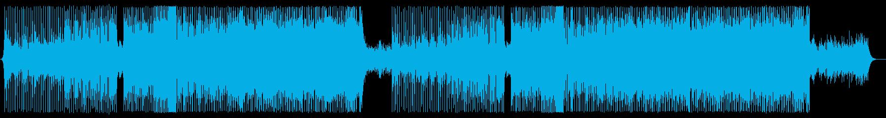 EDMの要素も持ったセツナ系テクノの再生済みの波形