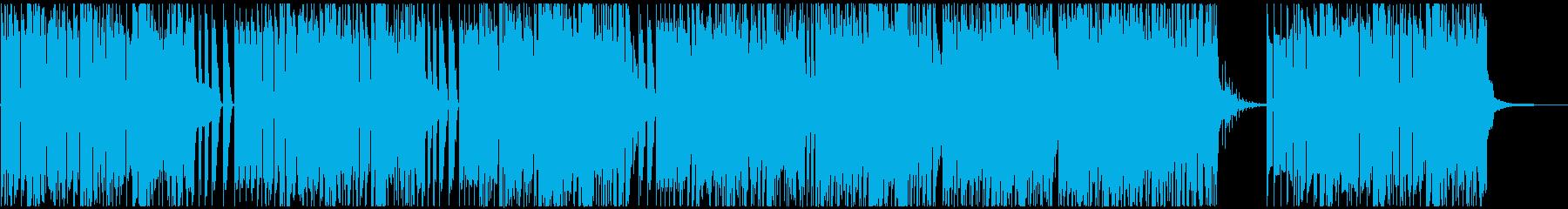 遊び心満載の段々焦る曲だけど落ち着く曲の再生済みの波形