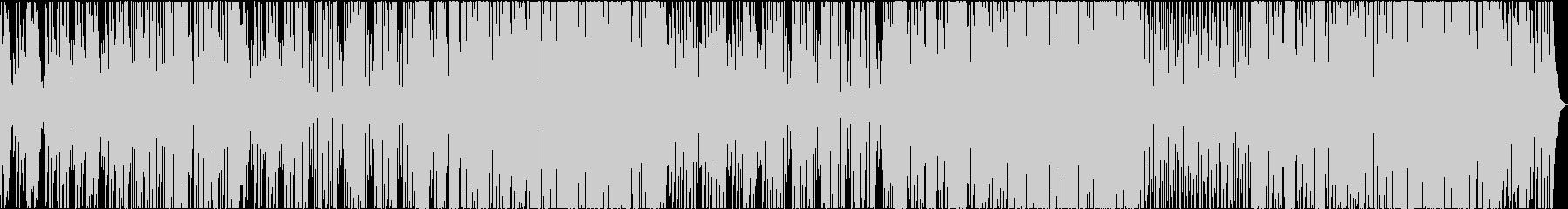 爽やかな午後を彩るサックスメロディの音楽の未再生の波形