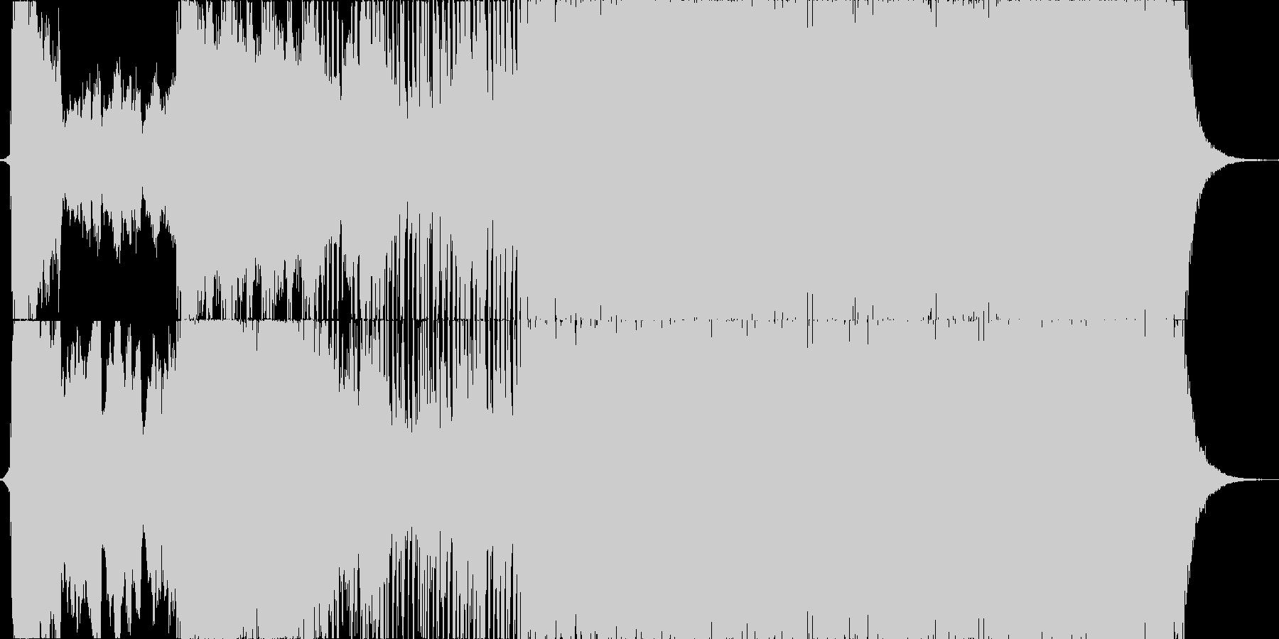イベント等のオープニングSEとしての未再生の波形