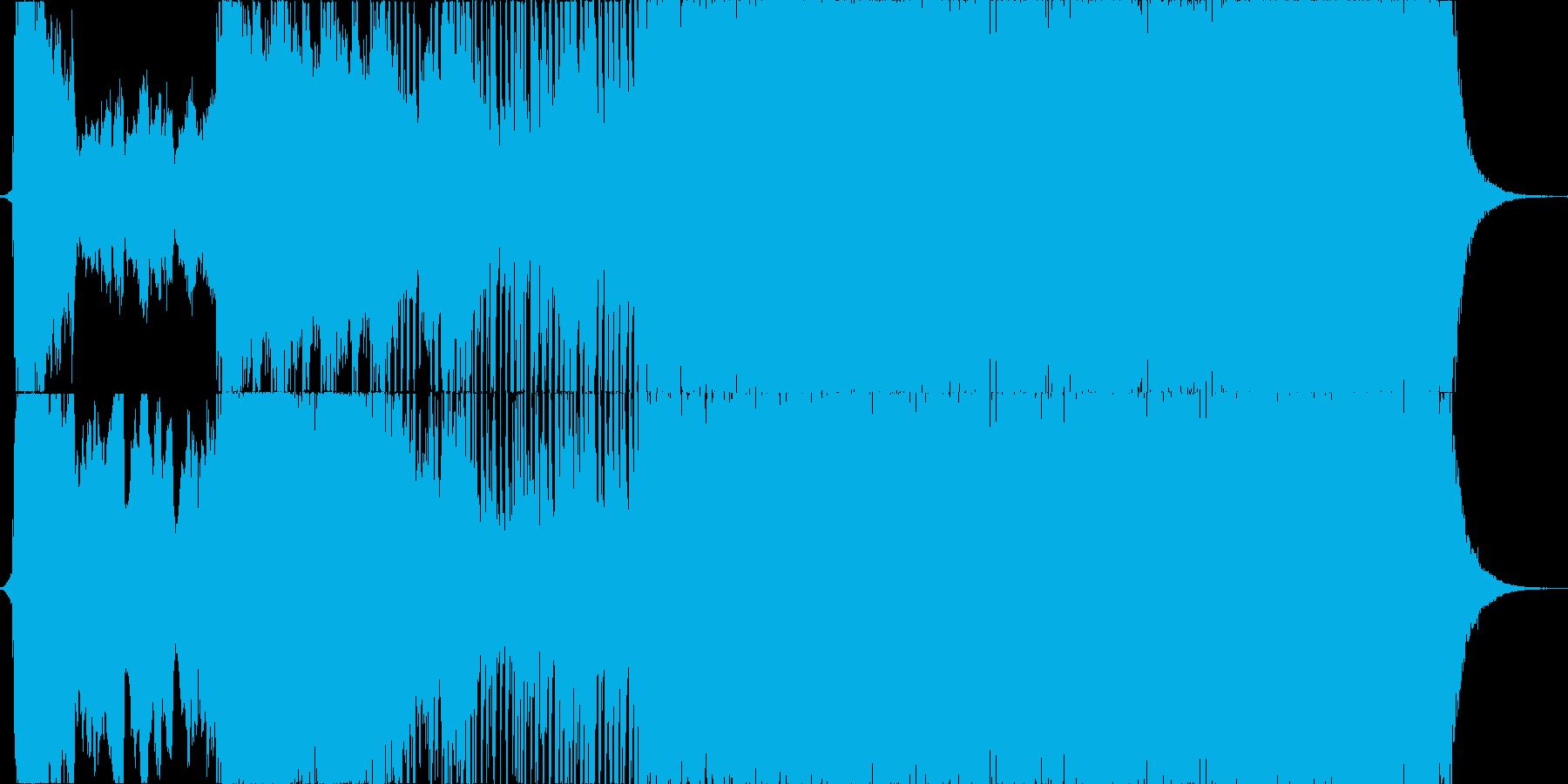 イベント等のオープニングSEとしての再生済みの波形
