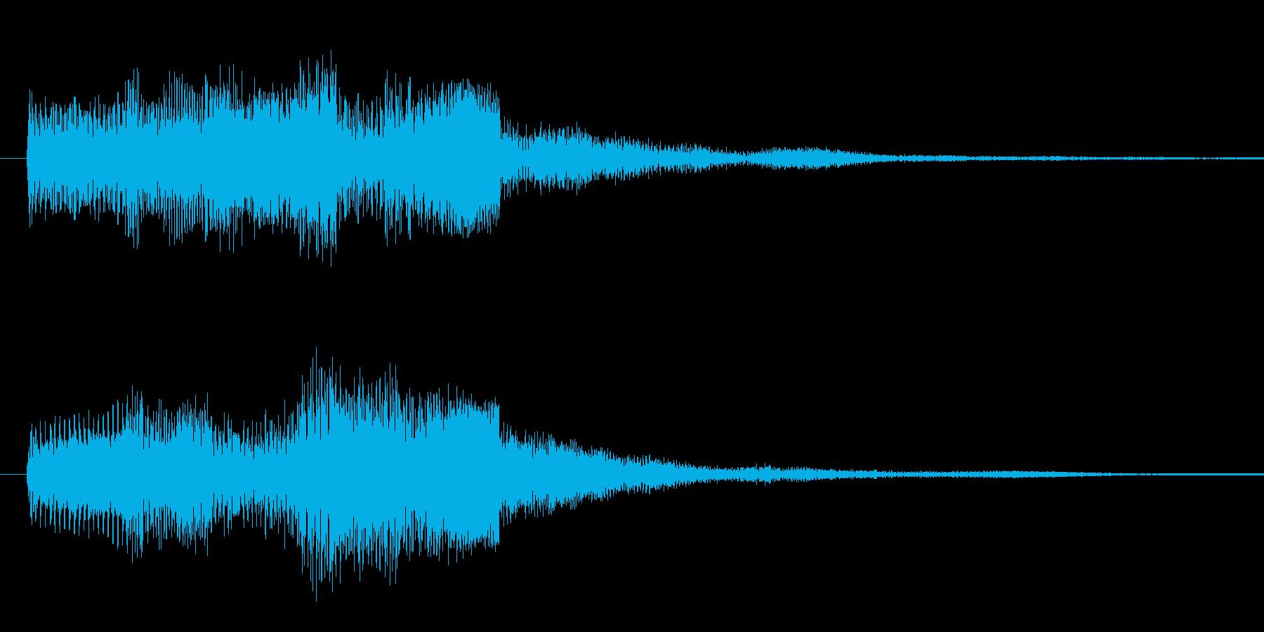 ドゥリリリ 2の再生済みの波形