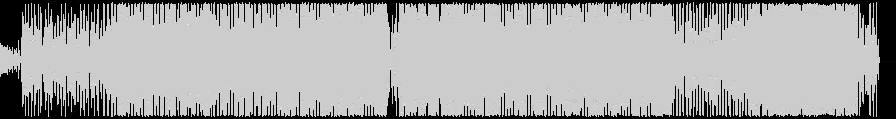 ほのぼのとした可愛いエレクトロポップの未再生の波形