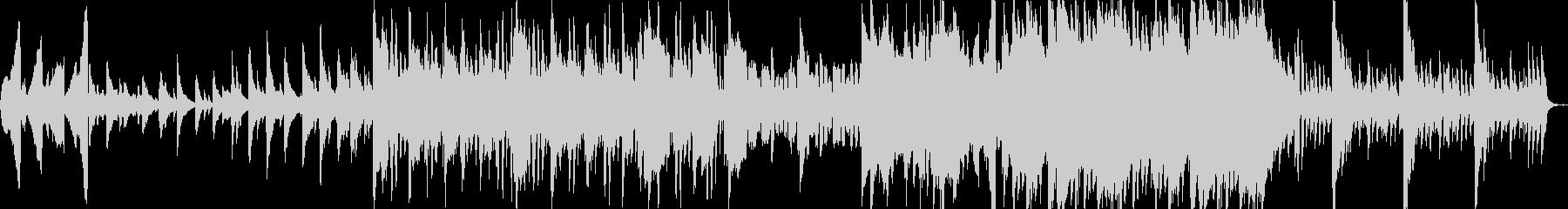 ピアノメインのエレクトロニカです。の未再生の波形