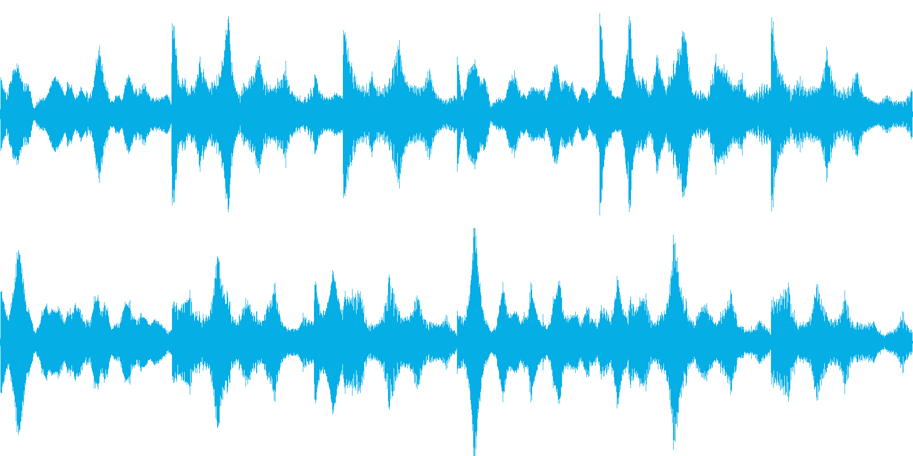 k011 アラーム音(ループ仕様)の再生済みの波形