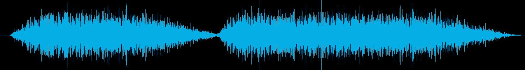 火炎放射器:2つのバースト、火炎放射器の再生済みの波形