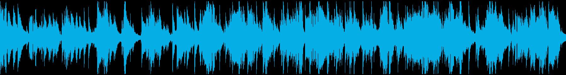 素敵なムードのジャズバラード ※ループ版の再生済みの波形