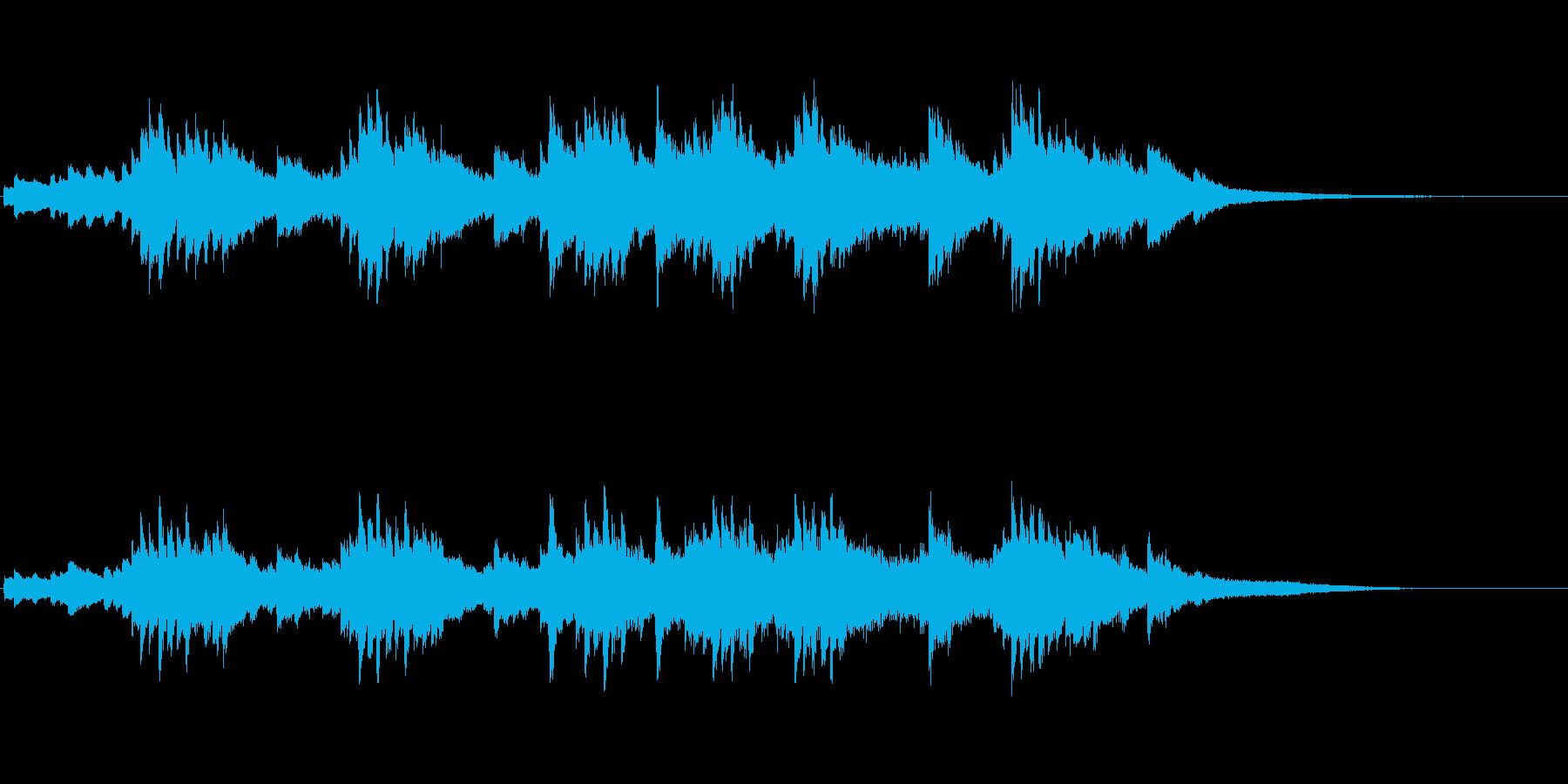 メランコリックなピアノが印象的なジングルの再生済みの波形