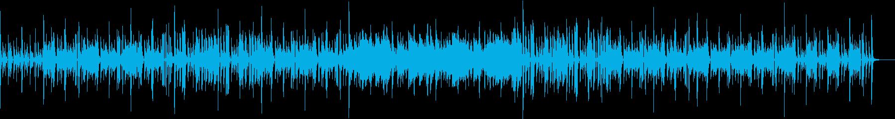 SEQとFunkなBassの怪しげな曲の再生済みの波形