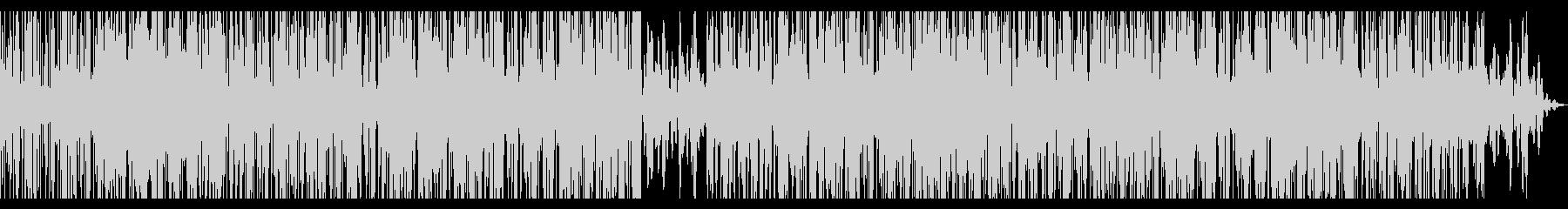 ローファイなHIPHOPサウンドの未再生の波形