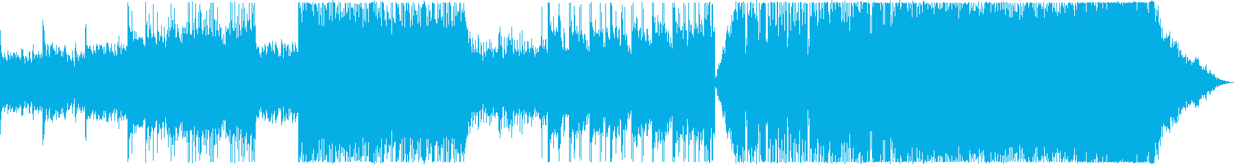 ロックインストゥルメンタル。暗く、...の再生済みの波形