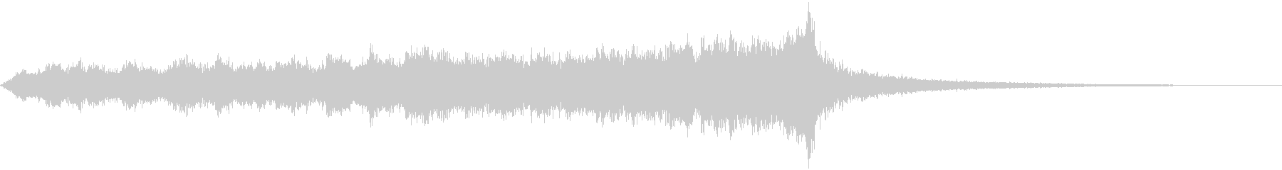 CINEMATIC RISER_17の未再生の波形