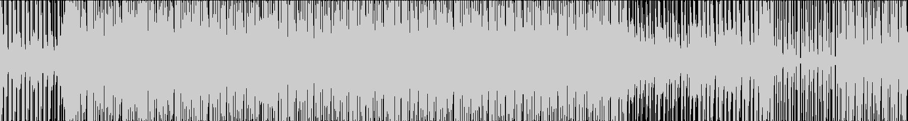 ワクワクするエレクトロポップの未再生の波形