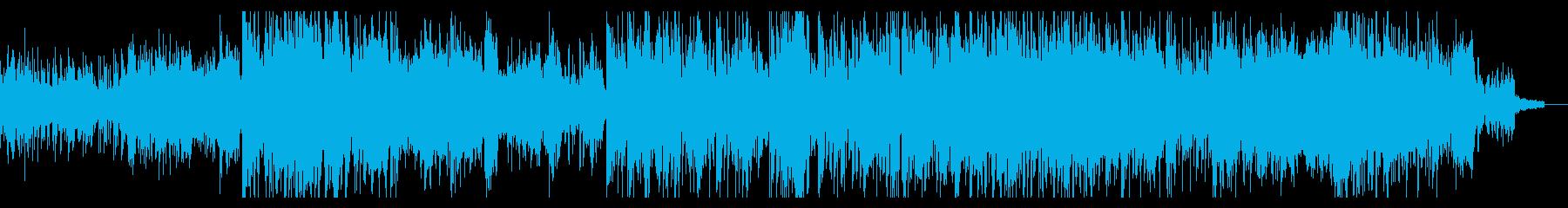 アトモスフィリックなアンビエントIDMの再生済みの波形