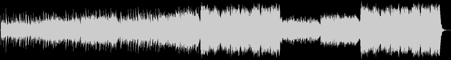 暗い森、ファンタジーBGMの未再生の波形