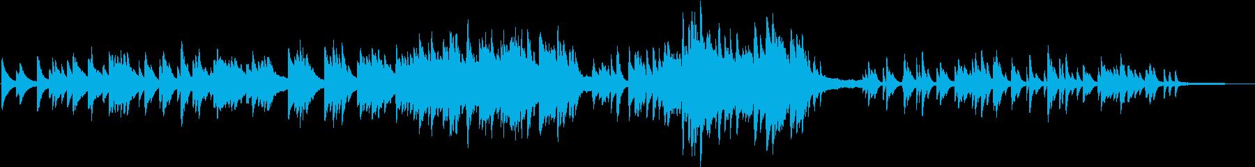 3拍子の少し切ないピアノバラードの再生済みの波形